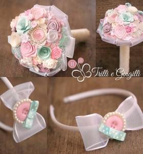 Bouquet per bimba