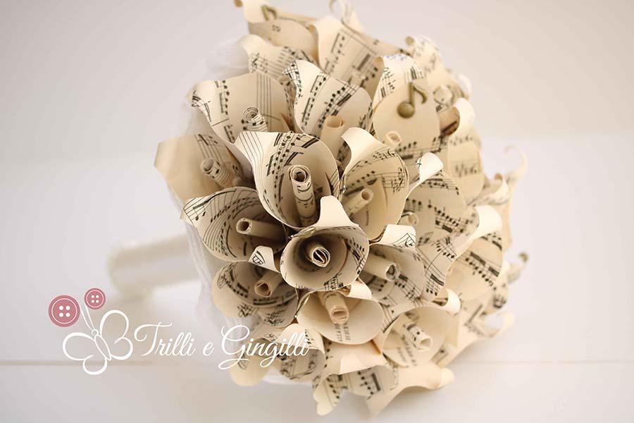 bouquet carta tema musica