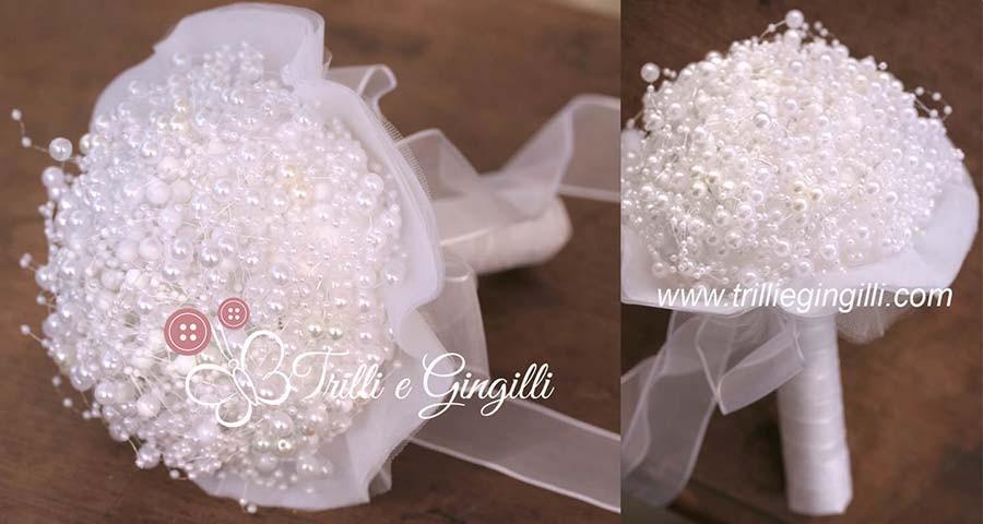 Bouquet bianco di perle