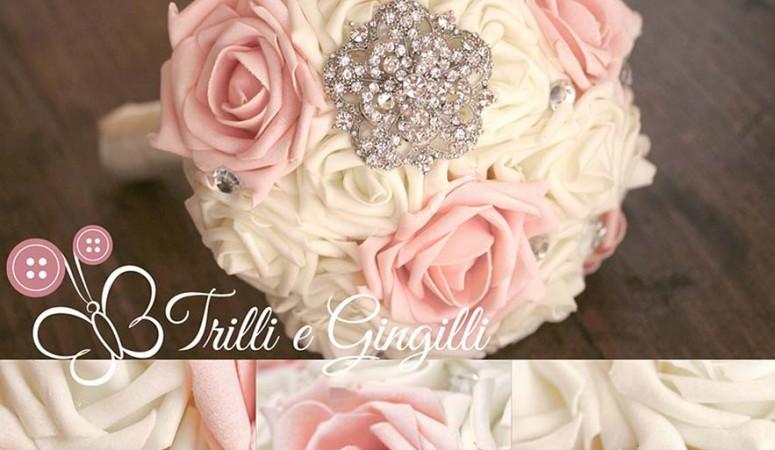 Tema Matrimonio Rosa Quarzo : Bouquet e accessori blog trilli e gingilli