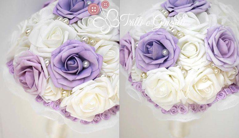 5 bellissimi bouquet glicine da sposa