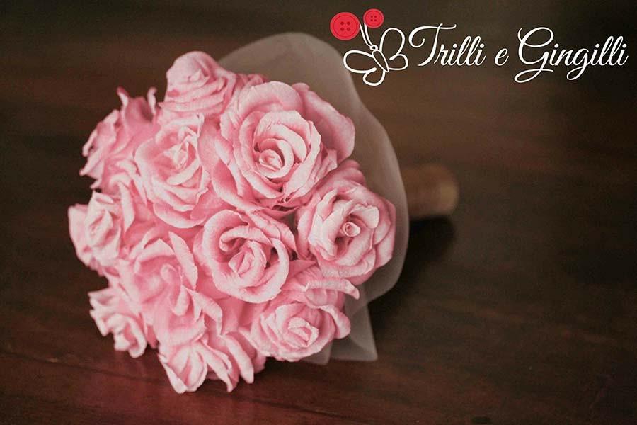 Bouquet Con Fiori Di Carta Ecco I Pi 249 Belli E Originali