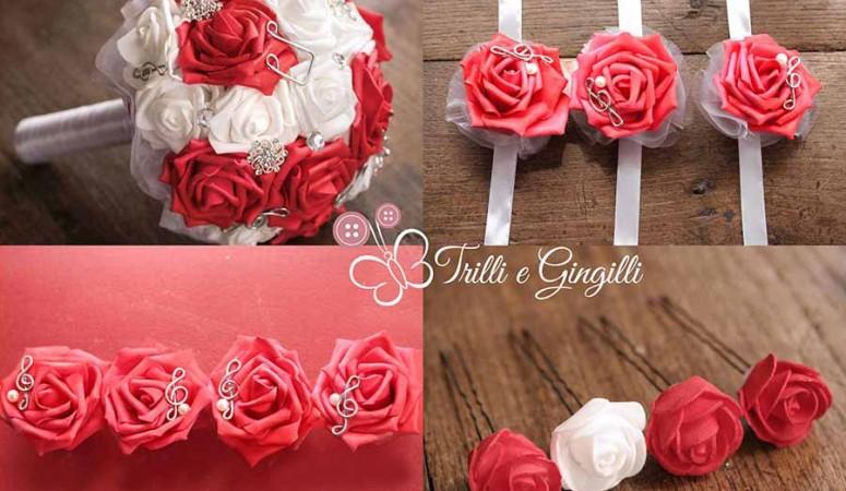 Con cosa va coordinato il bouquet da sposa?
