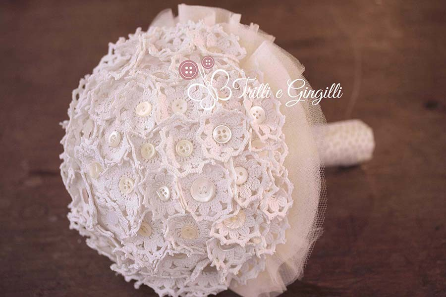Matrimonio Tema Uncinetto : Matrimonio a tema vintage ecco i bouquet perfetti per te