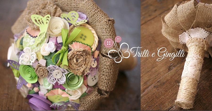Bouquet Sposa Juta.Bouquet Country Chic Questi Sono Bellissimi E Personalizzati