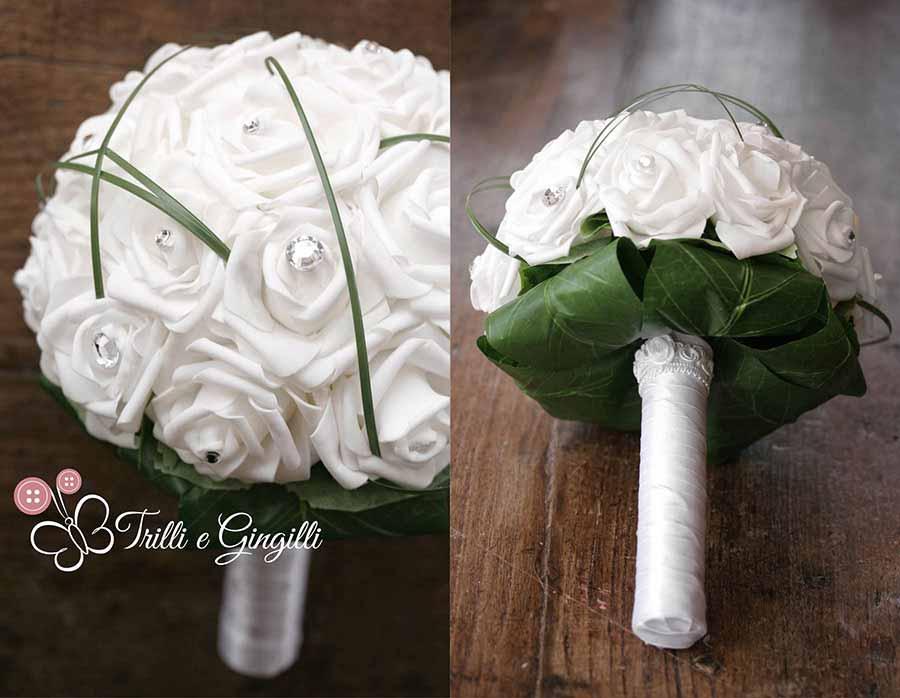 Préférence Bouquet di rose bianche: questi sì che sono originali! DC88