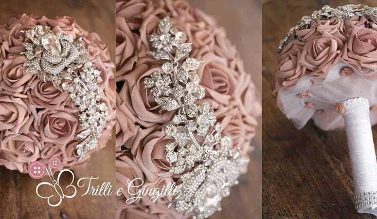 Bouquet sposa gioiello: eccone 8 davvero strepitosi!