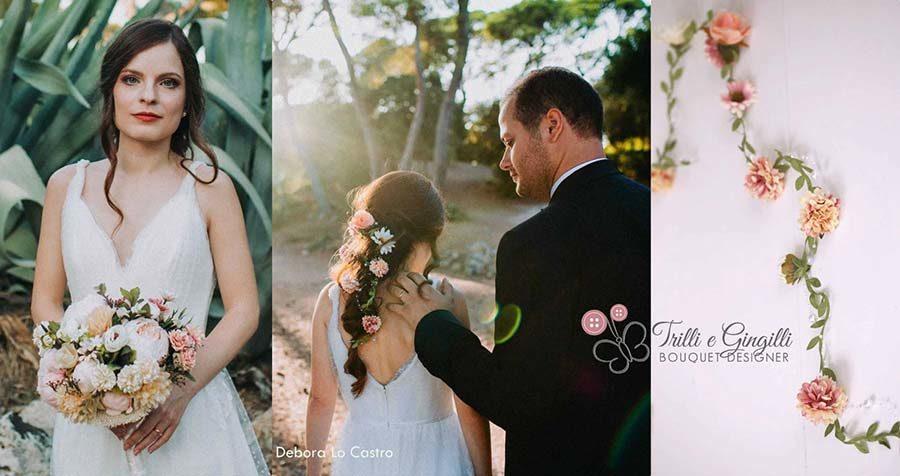 fiori capelli sposa online
