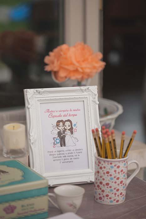 Guestbook matrimonio a capsula del tempo