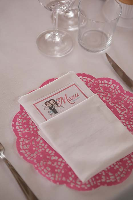 Matrimonio a tema the menu