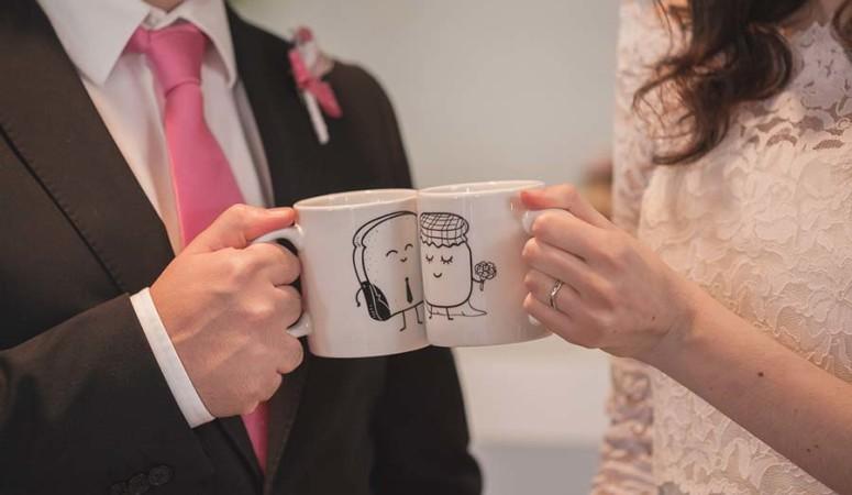 L'originale matrimonio a tema tè di Elena e Lorenzo