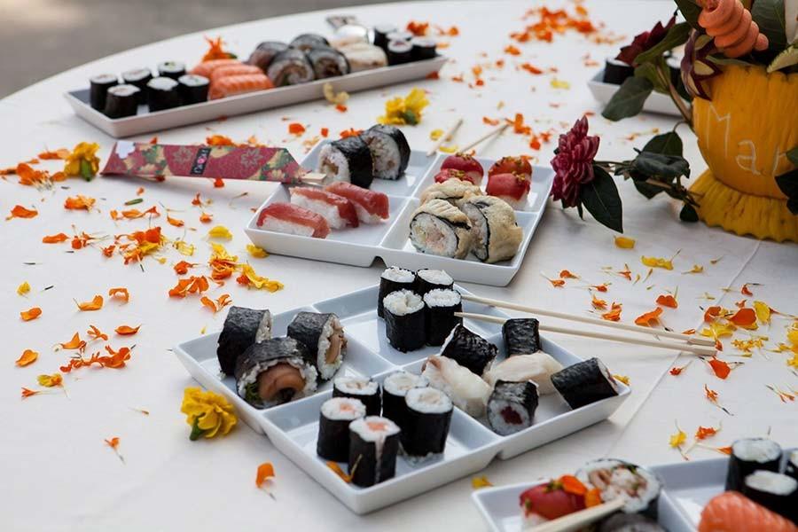 Buffet di sushi