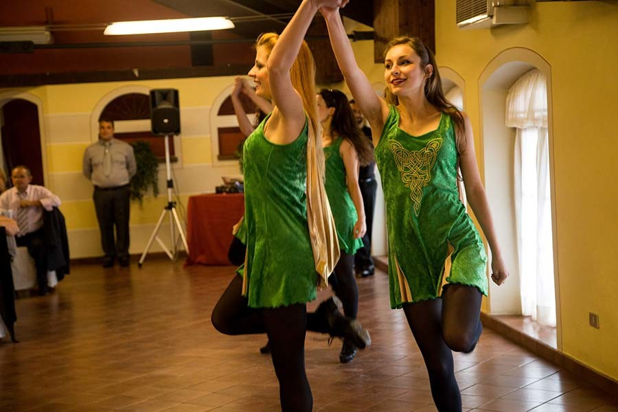 Balli irlandesi di intrattenimento