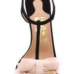 Sandali per matrimonio rosa e nero