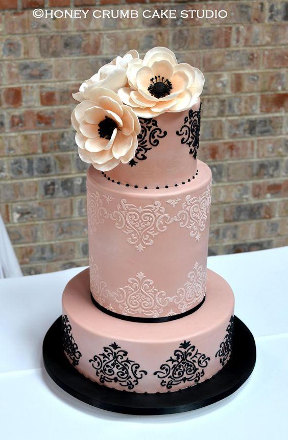 Matrimonio Tema Black And White : Tante idee chic per un matrimonio a tema rosa e nero