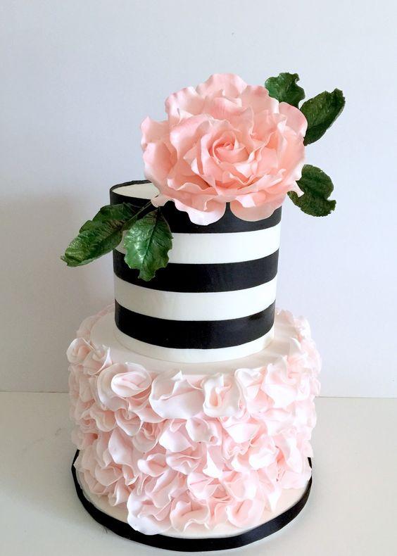 Tante idee chic per un matrimonio a tema rosa e nero for Design a 2 piani