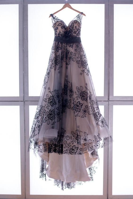 Matrimonio In Abito Nero : Vestito da sposa pizzo nero migliore collezione