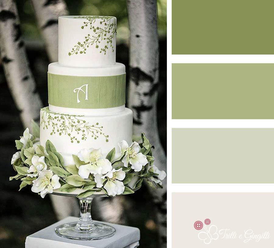 Matrimonio In Rosa E Bianco : Verde e scopri la palette perfetta per il tuo matrimonio