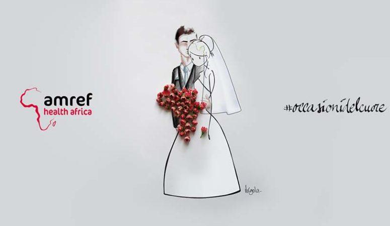 AMREF: bomboniere solidali e lista nozze solidale