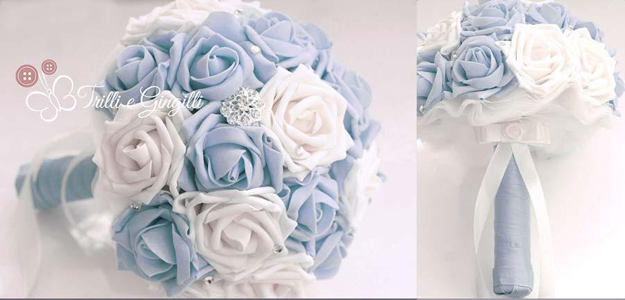 Bouquet sposa serenity e bianco