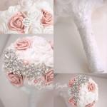 Bouquet sposa gioiello di rose
