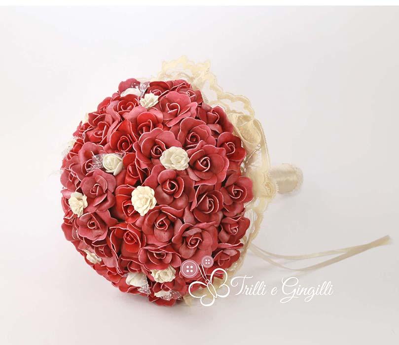bouquet sposa settembre bordeaux