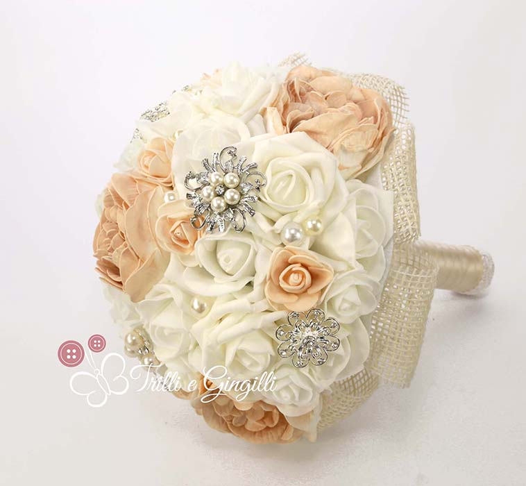bouquet sposa settembre rosa cipria