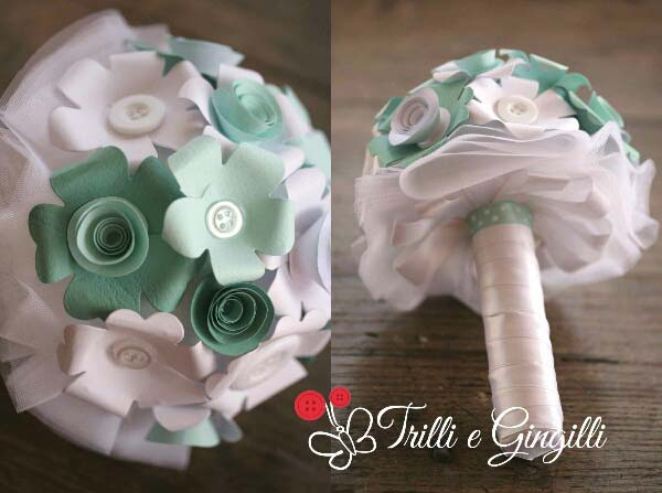 bouquet da lancio tiffany