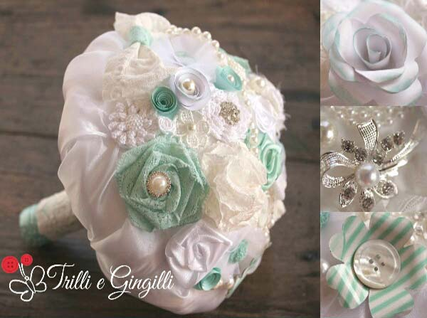bouquet matrimonio tiffany