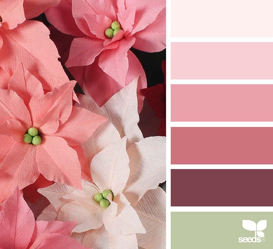 palette colori matrimonio rosa antico