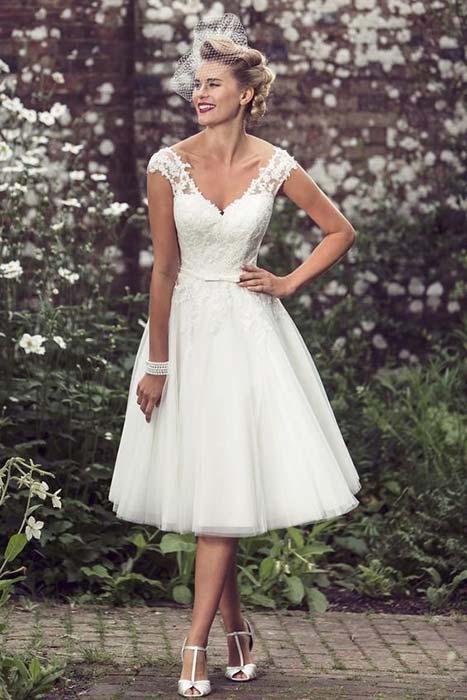 abito sposa anni 50