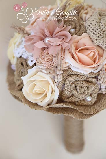 bouquet boho chic e country chic