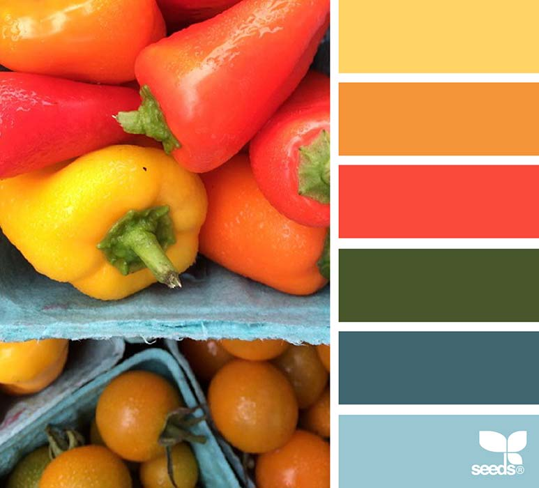 Matrimonio Azzurro E Arancione : Matrimonio in rosso ispirazioni consigli e palette