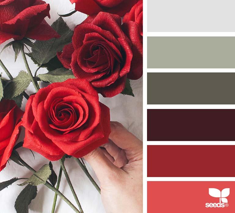 Matrimonio In Bianco E Rosso : Matrimonio in rosso ispirazioni consigli e palette
