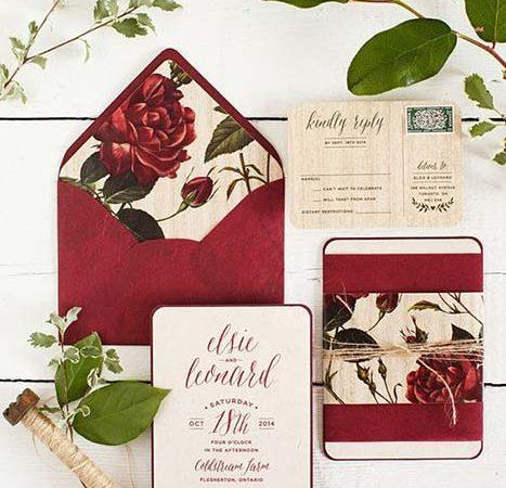 Matrimonio in rosso: ispirazioni, consigli e palette!
