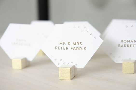 segnaposto matrimonio pietre preziose