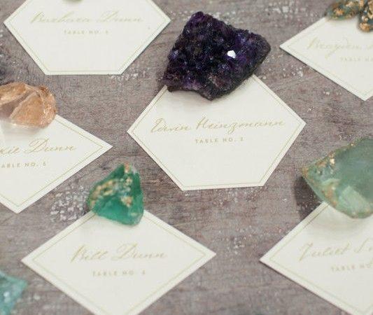 Tema matrimonio pietre preziose: ecco le idee più originali!