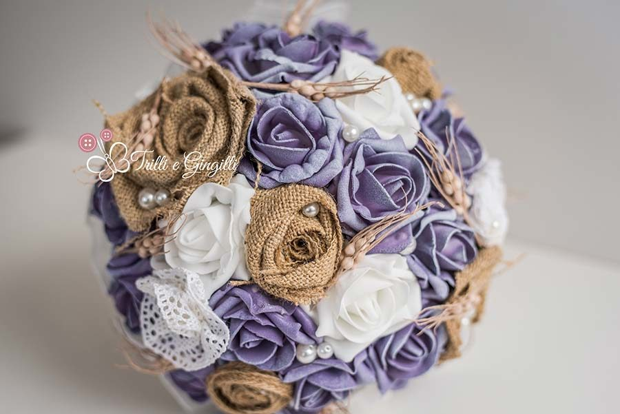 bouquet rose tema country