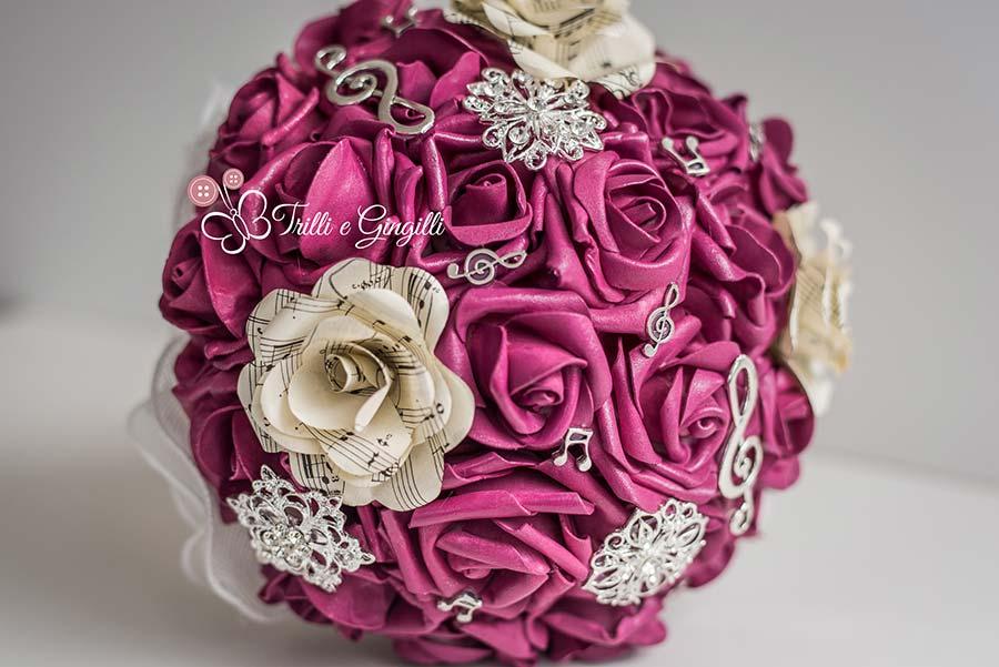 bouquet di rose tema musica