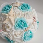bouquet sposa rose tema mare