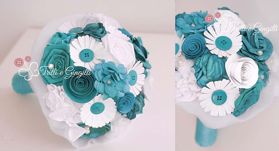 bouquet originali blu ottanio