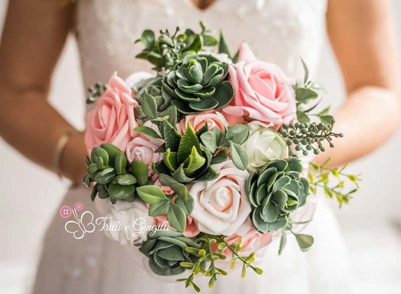bouquet originali piante grasse