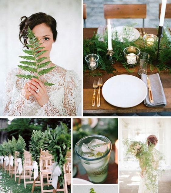 matrimonio green botanico