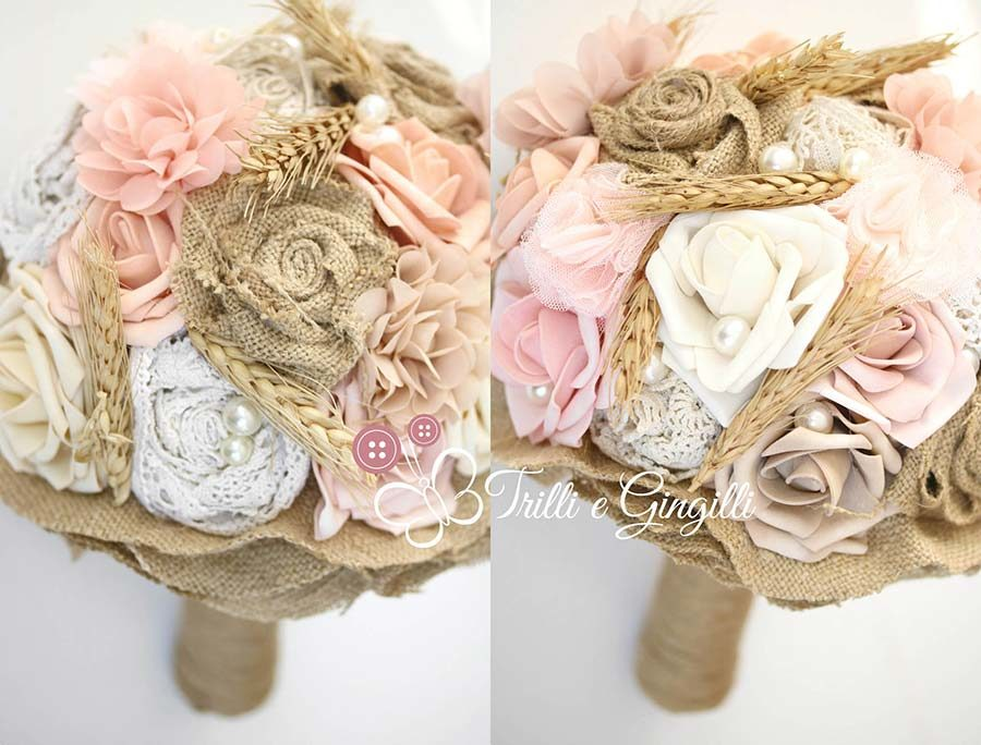 bouquet tema country chic