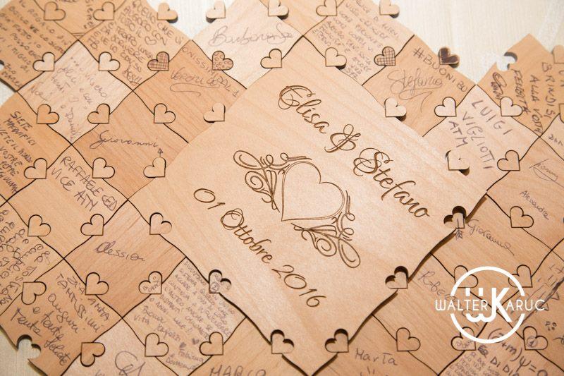 guestbook matrimonio puzzle