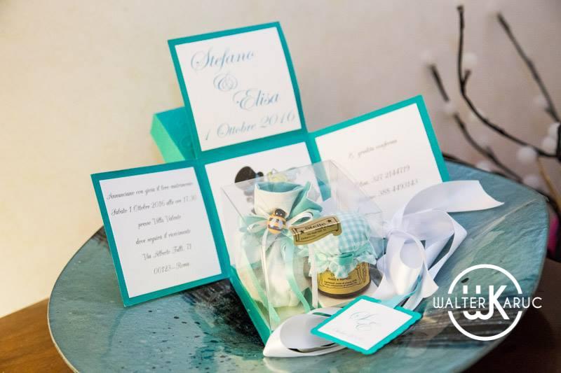 partecipazioni tiffany matrimonio tema favole