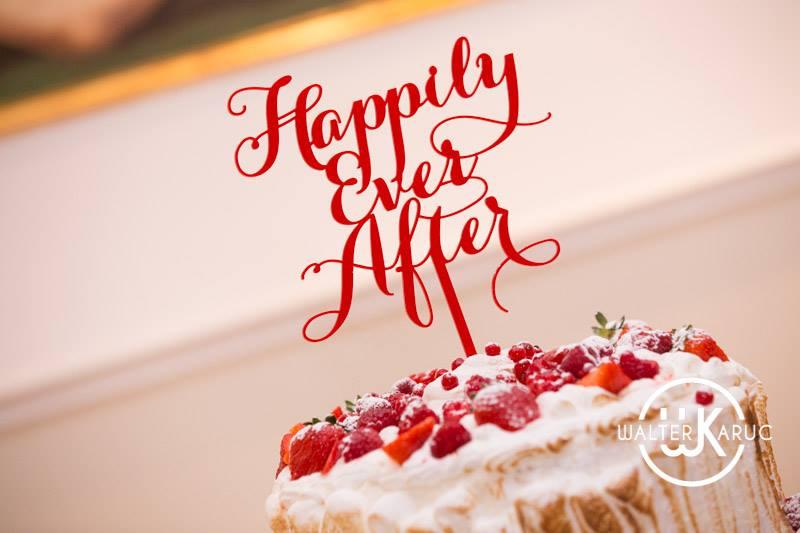 cake topper matrimonio tema favole