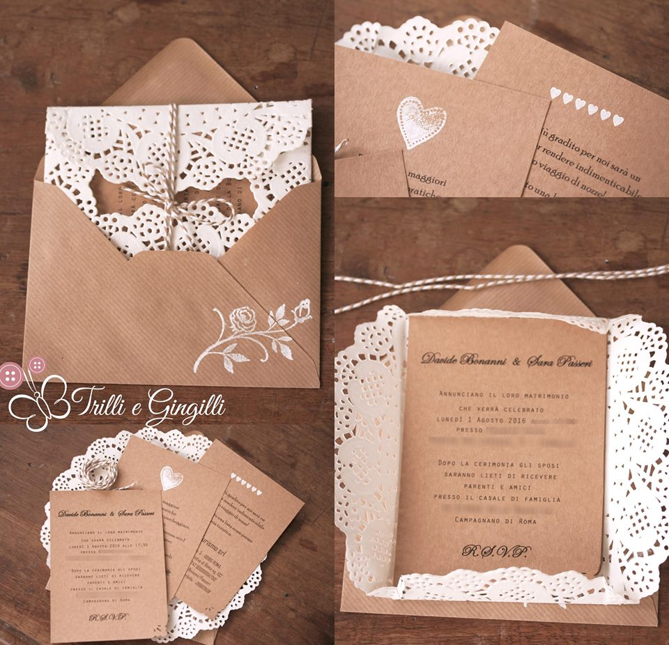 Dettagli Matrimonio Country Chic : Inviti matrimonio country chic nx regardsdefemmes