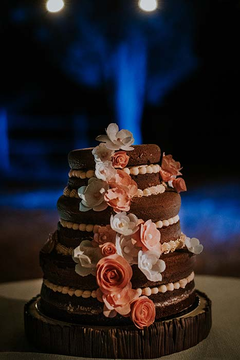 torta matrimonio nuda nude cake country chic