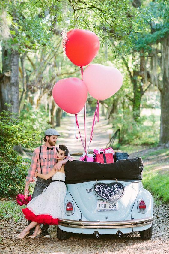 matrimonio a tema anni 50 vintage allestimenti auto